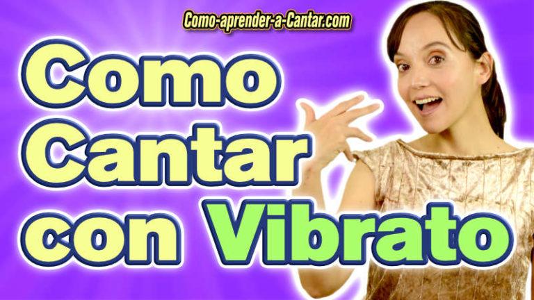 ¿Cómo Cantar con Vibrato? Ejercicios y Videos