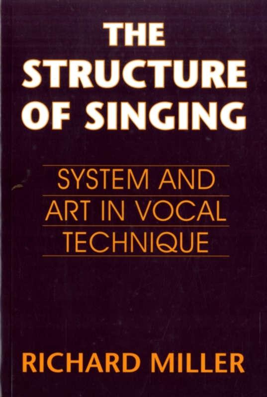 libros de canto, tecnica vocal, richard miller