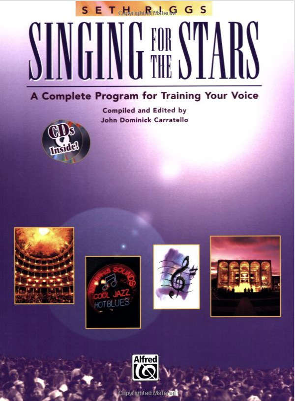 libros de canto tecnica vocal Singing for the stars Seth