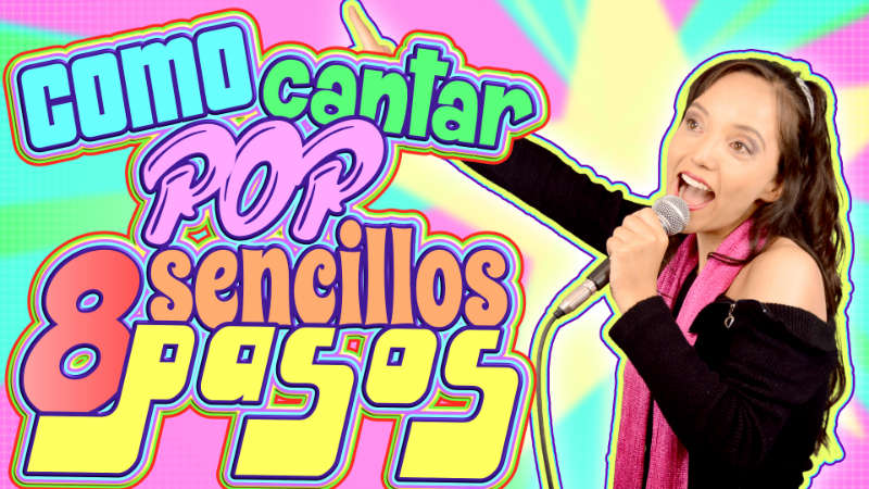 como cantar pop facil tecnica vocal