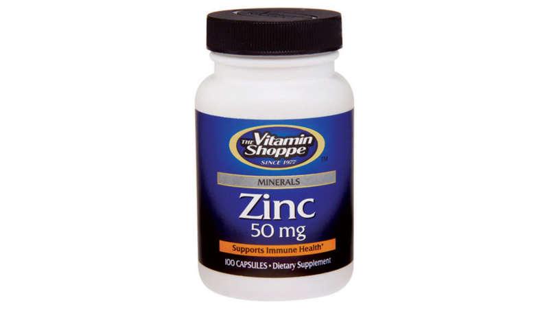 las mejores vitaminas para no enfermar zinc