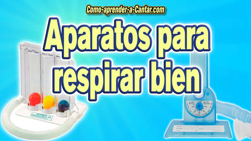 aparatos para respirar mejor espirometro incentivo