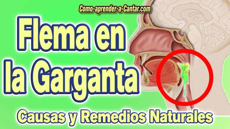 Flema en la garganta – Causas y remedios naturales para eliminarla