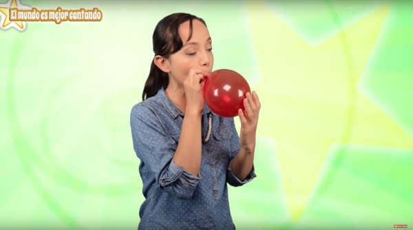 Ejercicios de canto para principiantes globos