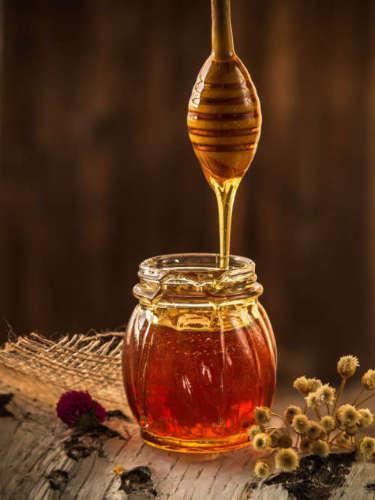 limpiar la voz con miel