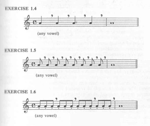 técnicas de vocalización