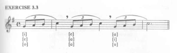vocalizar al cantar
