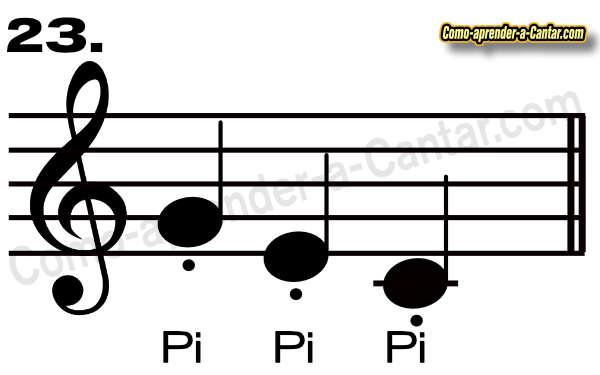 tecnicas de canto