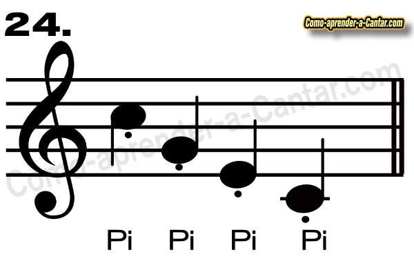 Ejercicios de vocalización