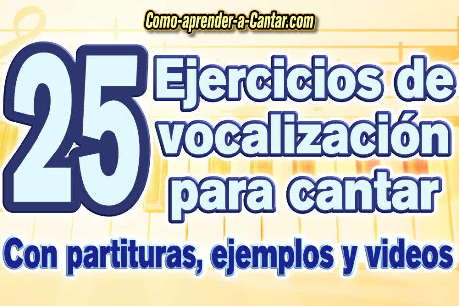 ejercicios de vocalizacion para cantar principiantes